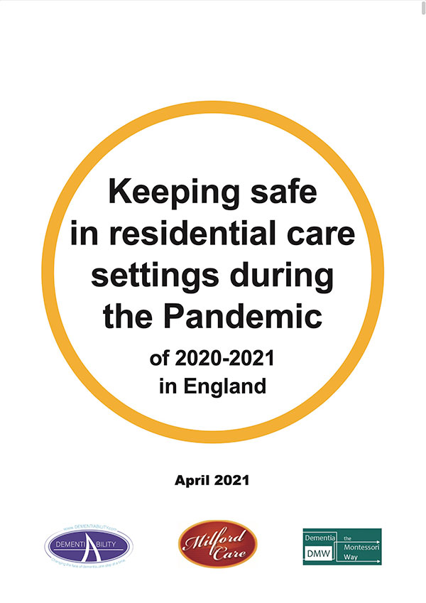keeping safe -in residential care settings during the pandemic